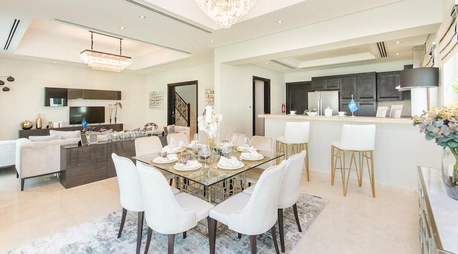 Al Furjan by Nakheel Villa - Living Room